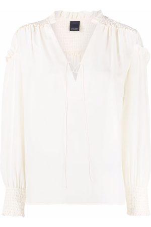 Pinko Damen Blusen - Bluse mit Schleifenverschluss