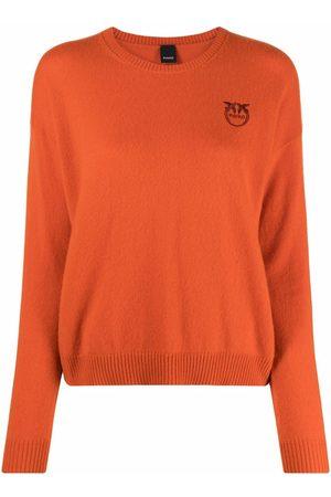 Pinko Damen Strickpullover - Bestickter Pullover