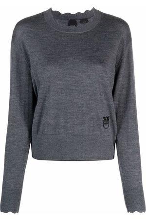 Pinko Damen Strickpullover - Pullover aus Feinstrick
