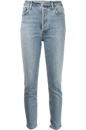 AGOLDE Damen High Waisted - High-rise skinny jeans