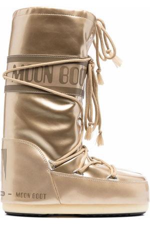Moon Boot Winterstiefel - Icon Schneestiefel im Metallic-Look
