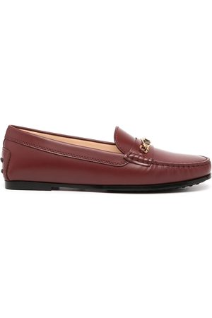 Tod's Damen Halbschuhe - Loafer mit Glanzoptik