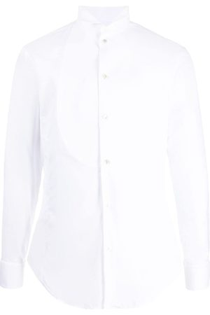 Armani Herren Lange Ärmel - Long-sleeved cotton shirt