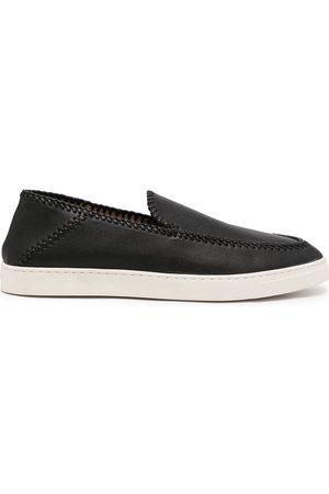 Armani Herren Sneakers - Slip-On-Sneakers aus Wildleder