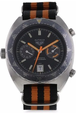 TAG HEUER PRE-OWNED 1970s pre-owned Autavia 40mm