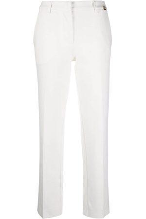 Twin-Set Damen Hosen & Jeans - Hose mit Logo-Schild - Nude