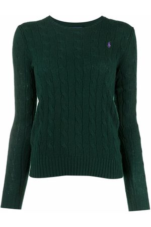 Polo Ralph Lauren Damen Strickpullover - Pullover mit Zopfmuster