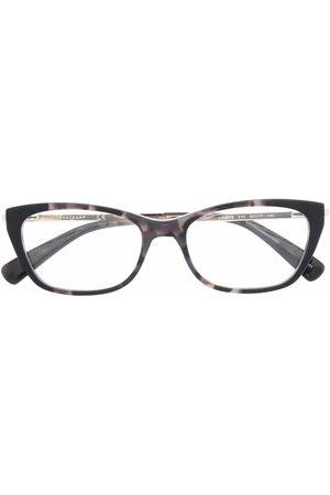 Longchamp Damen Accessoires - Cat-Eye-Brille in Schildpattoptik