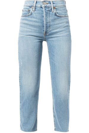 RE/DONE Cropped denim jeans