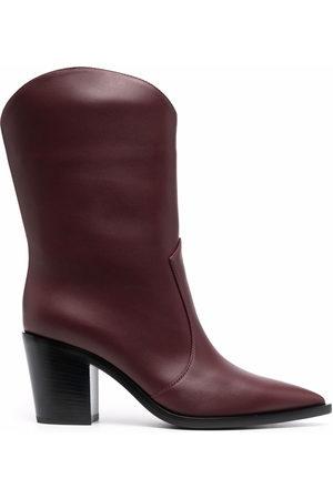 Gianvito Rossi Damen Stiefeletten - Stiefel mit spitzer Kappe