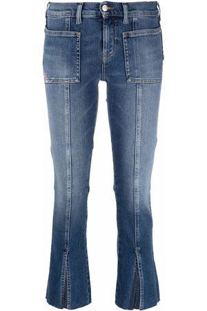 Diesel Klassische Cropped-Jeans
