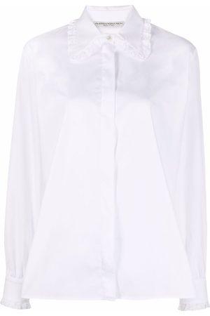 Alessandra Rich Hemd mit Stehkragen
