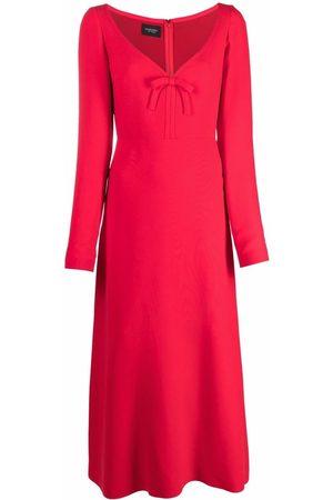 Giambattista Valli Damen Kleider - Bow-detail silk dress