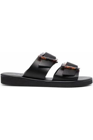 Ancient Greek Sandals Iaso oversized buckle sandals