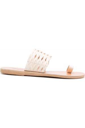 Ancient Greek Sandals Thalia woven leather sandals