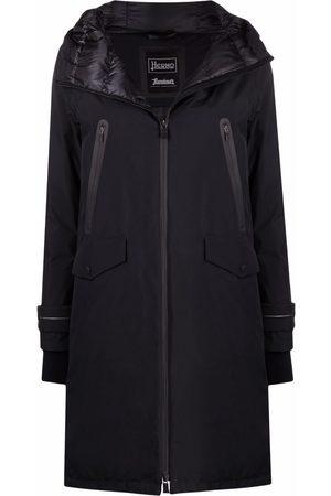 HERNO Damen Parkas - Hooded zipped coat