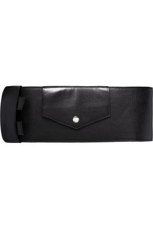 Manokhi Damen Gürtel - Buckle-fastening leather belt