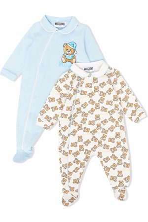 Moschino Kids Baby Outfit Sets - Teddy Bear motif babygrow set