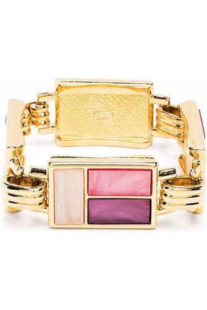 Yves Saint Laurent 1980s gemstone-embellished bracelet