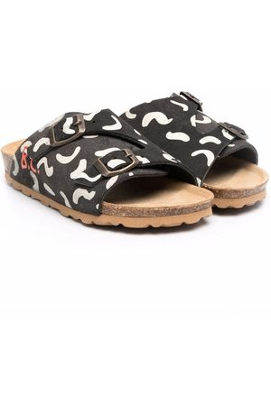 Bobo Choses Mädchen Sandalen - Sandalen mit abstraktem Print