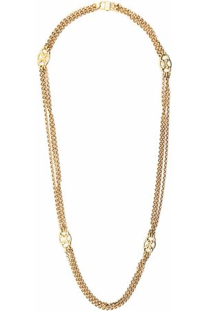 Céline Damen Halsketten - 1980s pre-owned layered chain necklace