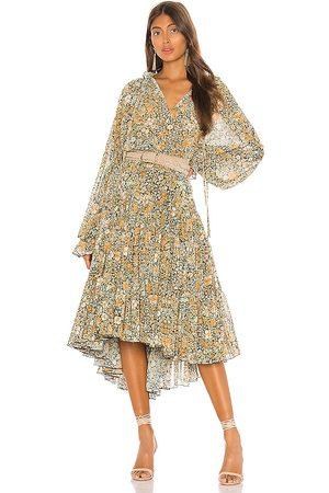 Free People Damen Lange Kleider - Feeling Groovy Maxi Dress in . Size XS, M, S.