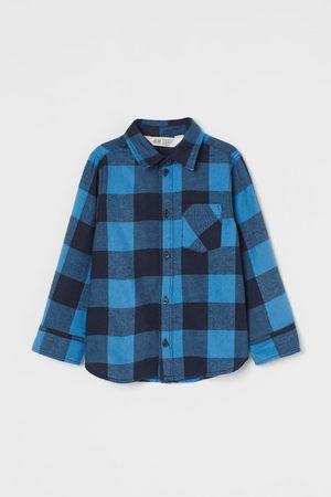 H&M Hemd aus Baumwollflanell