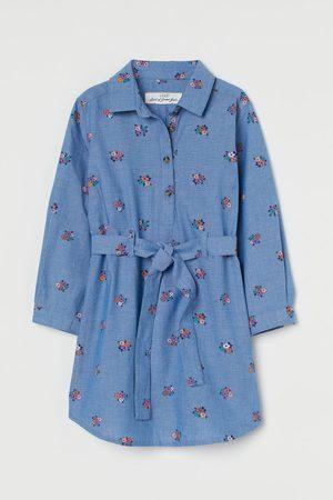 H&M Blusenkleid mit Gürtel