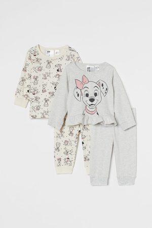 H&M 2er-Pack Pyjamas mit Volants