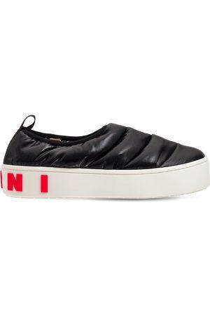 Marni Slip-on-sneakers Aus Nylon