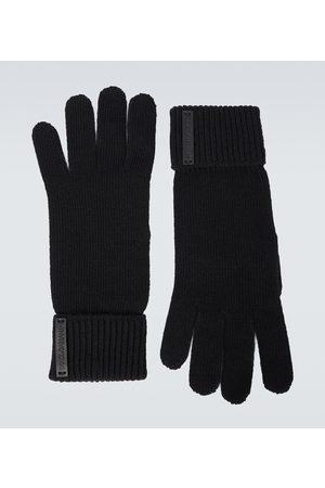 Dolce & Gabbana Gestrickte Handschuhe aus Wolle