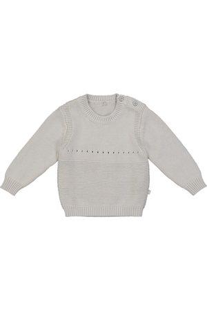 Stella McCartney Baby Pullover aus Baumwolle und Wolle