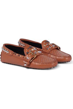 Tod's Loafers Gommino aus Leder mit Nieten