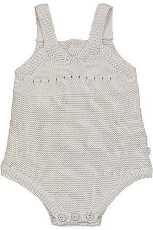 Stella McCartney Baby Body aus Baumwolle und Wolle