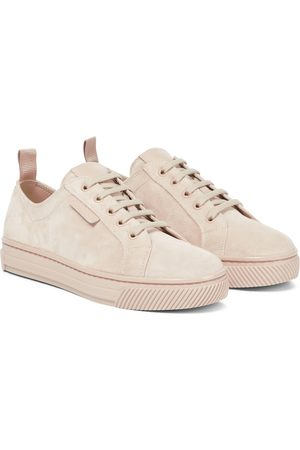 Gianvito Rossi Sneakers aus Veloursleder
