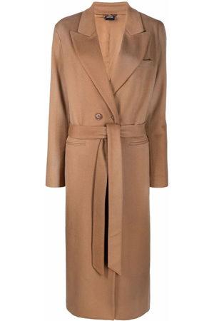 Aspesi Belted mid-length coat