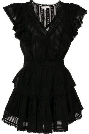 LOVESHACKFANCY Damen Freizeitkleider - Minikleid mit Volants