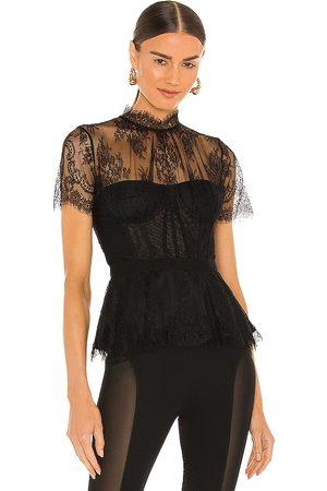 JONATHAN SIMKHAI Kehlani Lace Bustier Top in . Size 2, 4, 6, 8.