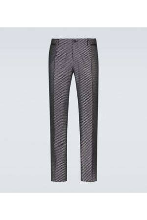 Dolce & Gabbana Stoffhosen - Hose aus einem Seidengemisch