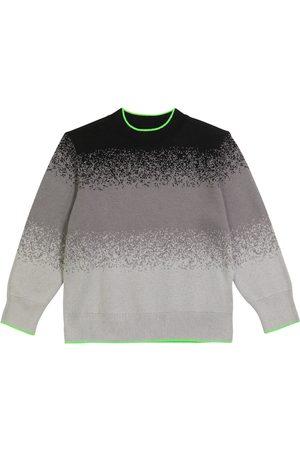 Stella McCartney Jungen Strickpullover - Pullover aus einem Baumwollgemisch