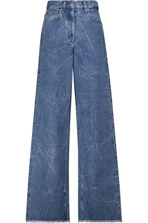 DRIES VAN NOTEN High-Rise Jeans mit weitem Bein