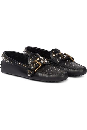 Tod's Damen Halbschuhe - Verzierte Loafers Gommini aus Leder