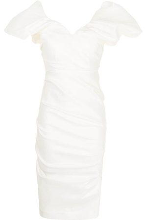 RACHEL GILBERT Damen Partykleider - Ruched-design dress