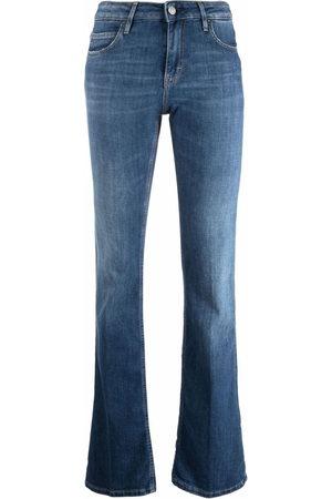 haikure Slim-cut flared jeans