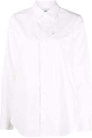Y-3 Damen Shirts - Chest patch pocket shirt