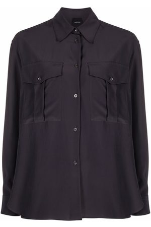 Aspesi Two-pocket silk shirt