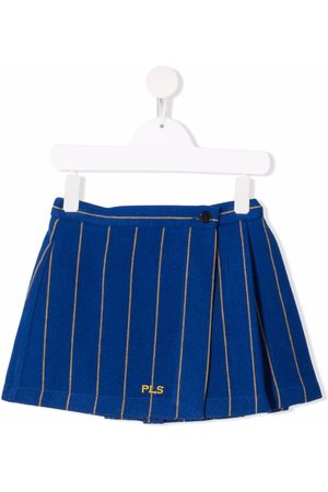 PHILOSOPHY DI LORENZO SERAFINI Mädchen Bedruckte Röcke - Pinstripe-print mini skirt