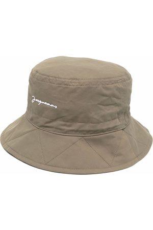 Jacquemus Damen Hüte - Fischerhut mit Logo-Stickerei