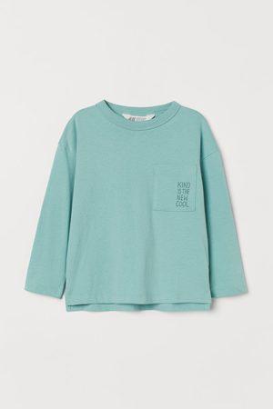 H&M Jungen Shirts - Jerseyshirt mit Tasche