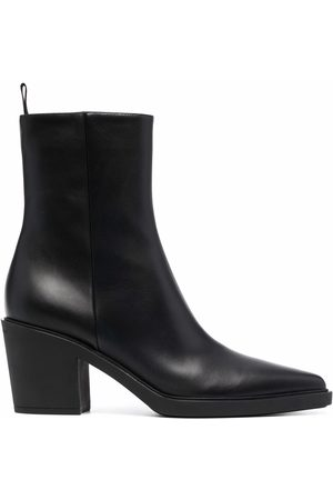 Gianvito Rossi Damen Stiefeletten - Dylan leather ankle boots